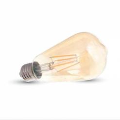 ΛΑΜΠΕΣ LED E27 ΔΙΑΦΑΝΕΣ ST64