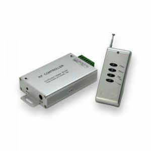 Κονσόλα διαχείρισης για ταινίες LED RGB 12A 144W DC12/24V με τηλεχειριστήριο τεσσάρων πλήκτρων