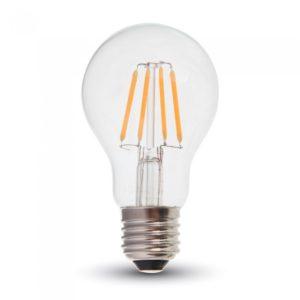 ΛΑΜΠΕΣ LED E27 ΔΙΑΦΑΝΕΣ A60, A65, A67, A70