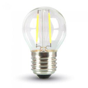 ΛΑΜΠΕΣ LED E27 ΔΙΑΦΑΝΕΣ G45, G80, G95, G125