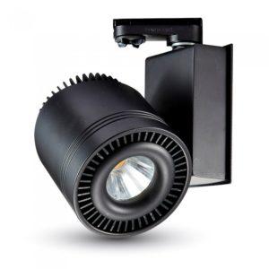 Σποτ ράγας LED 33W μαύρο VTAC