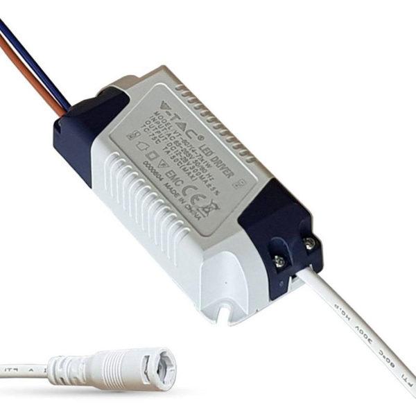 Τροφοδοτικό γιά LED Panel 6W ντιμαριζόμενο VTAC