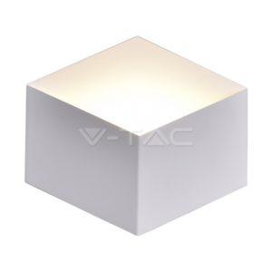 Απλίκα LED 3W κύβος λευκή ή μαύρη VTAC