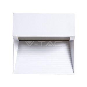 Επιτοίχιο φωτιστικό σκάλας LED 3W τετράγωνο λευκό μαύρο γκρι VTAC