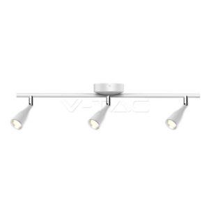 Φωτιστικό οροφής LED 13.5W τριπλό λευκό VTAC