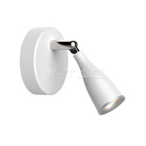 Φωτιστικό οροφής LED 4.5W μονό λευκό VTAC
