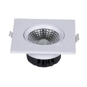 Φωτιστικό οροφής LED 5W τετράγωνο VTAC