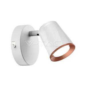 Φωτιστικό οροφής LED 6W μονό λευκό VTAC