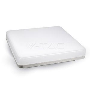 Πλαφονιέρα LED 15W τετράγωνη VTAC