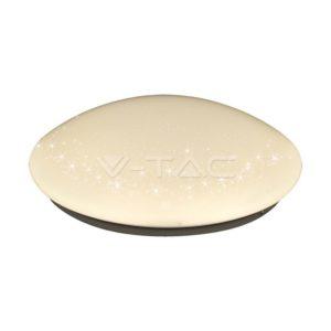 Πλαφονιέρα LED 8W κυκλική bling star VTAC