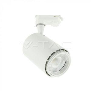 Σποτ ράγας LED 18W 3σε1 λευκό VTAC