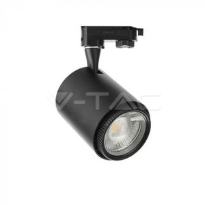 Σποτ ράγας LED 18W 3σε1 μαύρο VTAC