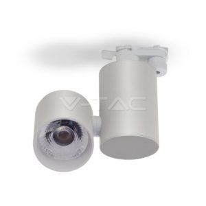 Σποτ ράγας LED 15W λευκό VTAC