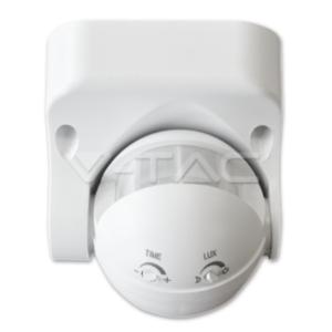Ανιχνευτής κίνησης infrared max 300W λευκός ή μαύρος VTAC