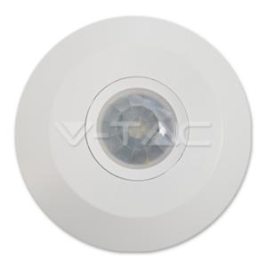 Ανιχνευτής κίνησης PIR max 1000W λευκός ή μαύρος VTAC