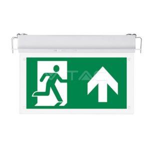 Φωτιστικό ασφαλείας LED 2W χωνευτό VTAC