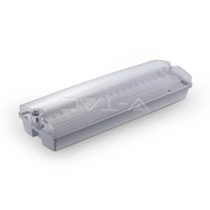 Φωτιστικό ασφαλείας LED 3W επιτοίχιο IP65 VTAC