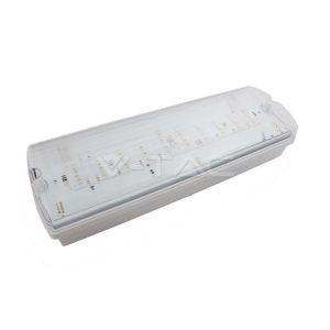 Φωτιστικό ασφαλείας LED 4W επιτοίχιο IP65 VTAC