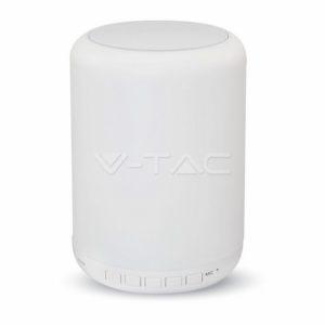 Φωτιστικό LED 3W RGB ηχείο bluetooth επαναφορτιζόμενο VTAC