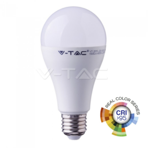 Λάμπα LED E27 12W A65 real color VTAC