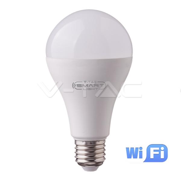 WiFi Λάμπα LED E27 A95 18W RGB+λευκό VTAC