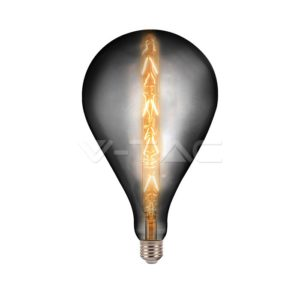 Λάμπα LED E27 G165 8W smokie VTAC