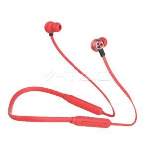 Ακουστικό bluetooth 165mAh κόκκινο ή μαύρο VTAC