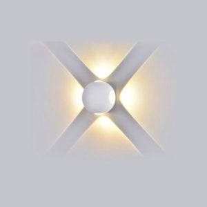 Απλίκα LED 4W σφαιρική λευκή VTAC