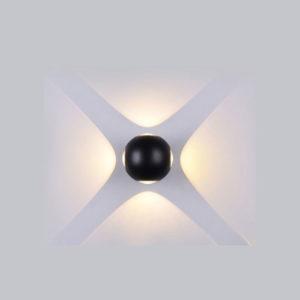 Απλίκα LED 4W σφαιρική μαύρη VTAC