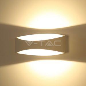 Απλίκα LED 5W λευκή VTAC