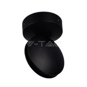 Απλίκα LED 7W δέσμης μαύρη VTAC