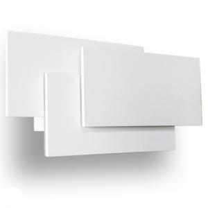 Απλίκα LED 12W επίπεδα λευκή VTAC