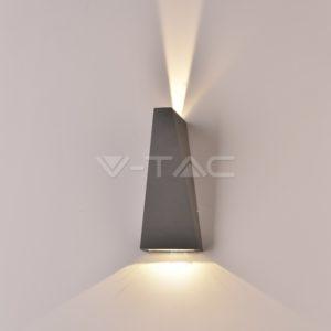 Απλίκα LED 6W updown γκρι VTAC