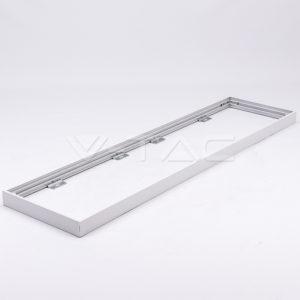 Eξωτερικό πλαίσιο LED Panel 120x30 με βίδες VTAC