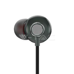 Ενσύρματα ακουστικά μαύρα VTAC