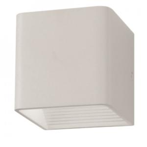 Επιτοίχιο φωτιστικό LED 5W κύβος λευκό μαύρο VTAC