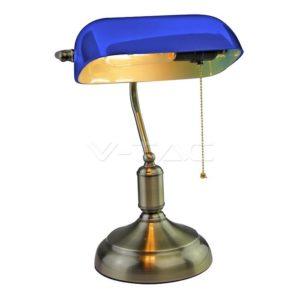 Φωτιστικό γραφείου Vintage μπλε VTAC