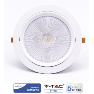 Φωτιστικό οροφής LED 10W κινητό VTAC SAMSUNG