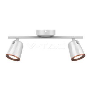 Φωτιστικό οροφής LED 12W διπλό λευκό VTAC
