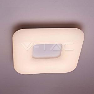 Φωτιστικό οροφής LED 24W 3σε1 ντιμαριζόμενο VTAC