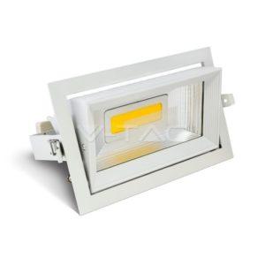 Φωτιστικό οροφής LED 30W COB ορθογώνιο VTAC