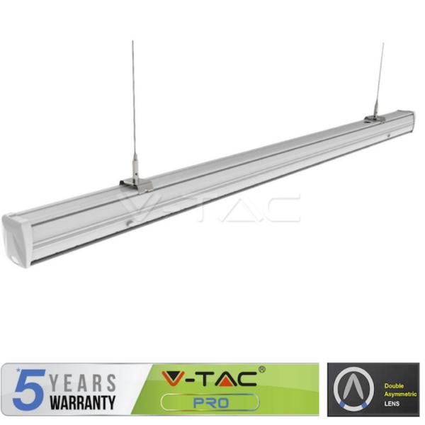 Γραμμικό φωτιστικό LED 50W θηλυκό διπλού ασύμμετρου VTAC