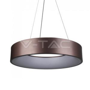 Πολύφωτο LED 25W καφέ ντιμαριζόμενο VTAC