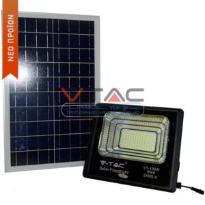 Προβολέας LED Ηλιακός 50W VTAC