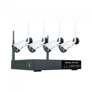 Σετ καμερών Wifi 1080p με καταγραφικό NVR VTAC