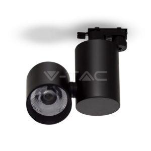 Σποτ ράγας LED 15W μαύρο VTAC