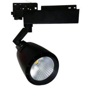 Σποτ ράγας LED 33W μαύρο σώμα VTAC