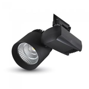Σποτ ράγας LED 35W μαύρο VTAC