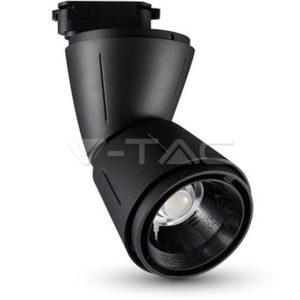 Σποτ ράγας LED 45W μαύρο VTAC