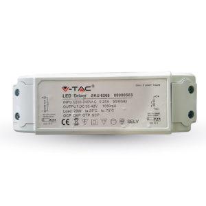 Τροφοδοτικό γιά LED Panel 29W ντιμαριζόμενο VTAC PRO